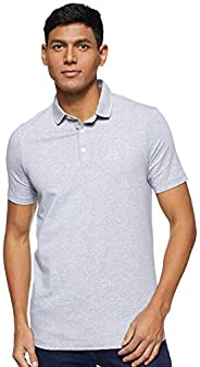 A|X ARMANI EXCHANGE 男士 短袖针织Polo衫