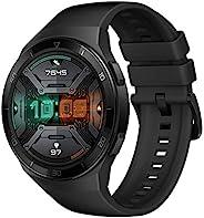 华为 Watch GT 2e - 带心率测量,音乐播放和蓝牙电话 - 5ATM 防水 55025281 GT 2e graphite black