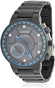 男式 Citizen 光动能卫星波浪 GPS 自由手表 CC3038-51E