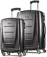 Samsonite Winfield 2 行李箱2件套 帶萬向輪 灰色 20+24寸