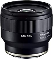 Tamron 24mm F/2.8 Di III OSD M1:2 镜头,适用于索尼全框/APS-C E 支架,型号:TM24F28S