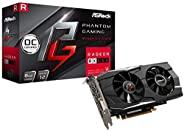 ASRock 搭载AMD Radeon RX580 显卡 Phantom gaming 型号 PG D Radeon RX580 8G OC