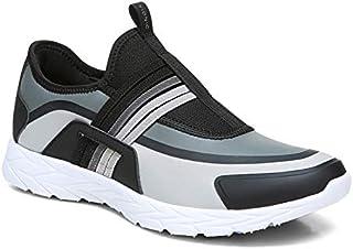 Vionic 女式 Brisk Vayda 一脚蹬步行鞋 - 女士运动运动鞋,带隐藏式矫正足弓支撑