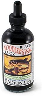 Noodler 喷泉墨水,127.57 克滴管瓶,黑色 (19801)