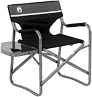 Coleman 便携式 deck Chair with SIDE TABLE