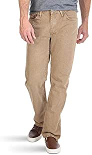 Wrangler Men's Big and Tall Authentics Classic Regular-Fit Jean, Khaki, 4