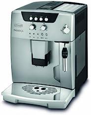 DeLonghi ESAM 04.120.S - 咖啡机(复苏、半自动、咖啡壶、地咖啡、卡普奇诺、黑色、银色、咖啡色)
