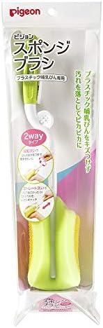 贝亲海绵刷 2way 塑料奶瓶专用