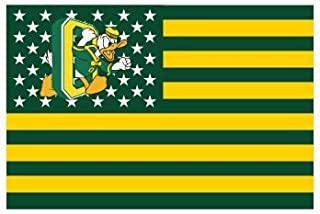 俄勒冈大学鸭子国家星条旗 3 x 5 英尺