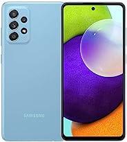 Samsung 三星 Galaxy A52(128GB,6GB) 6.5 英寸双 SIM GSM 无锁 4G LTE 国际型号 A525M/DS(超棒的蓝色)