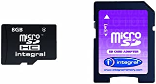 integral Micro SDHC 媒体闪存 with SD ADAPTOR 容量 Ref inmsdh4g4V2–父