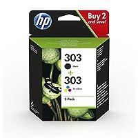 HP Z4B62EE 303 照片超值裝,黑色和三色,2 個裝 Dual Pack Black and Tri-Colour