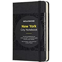 Moleskine City 笔记本 New York Pocket/A6 黑色