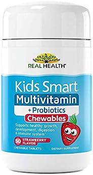 Real Health 儿童智能复合维生素+*,50粒
