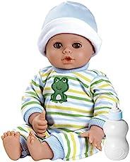 Adora Playtime Baby - 小王子,13 英寸可水洗柔软材质娃娃,适合 12 个月及以上儿童,含白色连体衣和奶瓶