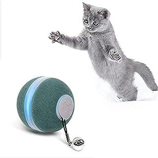 boqii 猫玩具室内猫智能球,[3 种模式适合猫不同个性] [*毛绒材料] 互动猫玩具球,USB 充电,自动猫玩具作为猫礼品*