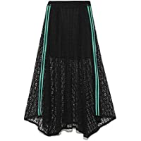 [snidel] 裙子 侧边蕾丝裙 SWFS191082