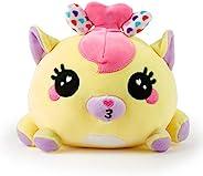 WowWee Ploosh - 白色和粉色 Kissimal - 互动毛绒玩具