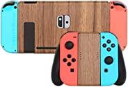 [skinfact] 控制臺皮膚天然木材,適用于 Nintendo Switch 控制臺日本制造優質紋理貼花包裹皮膚