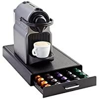 AmazonBasics Nespresso 咖啡莢存儲抽屜 - 50 Capsule Capacity