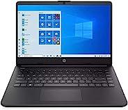 HP 惠普 2021 14英寸(约35.56厘米)高清1366x768轻型笔记本电脑,Intel Core i3-1005G1处理器,4GB RAM,128GB SSD,HDMI,网络摄像头,Wi-Fi,蓝牙,Windo