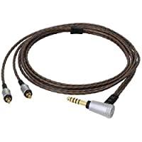 audio-technica 耳机线(1.2m)【A2DC连接器⇔4.4mm5极平衡】 HDC214A/1.2
