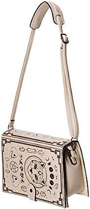 Spellbinder Bag 猫五角星和神秘符号手提包 - 黑色或米白色 - 均码