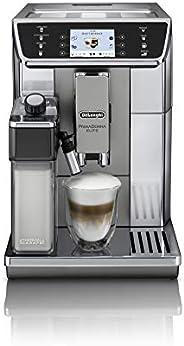 De'Longhi 德龙 PrimaDonna Elite ECAM 650.55.MS 全自动意式浓缩咖啡机 2 升 独立式 集成研磨机 1450 W 黑色 不锈钢