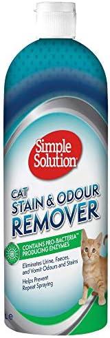 Simple Solution猫咪去污除臭剂,1000ml