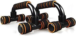 STARBEC 健身俯卧撑杆,胸部,三角肌,肩膀和腹部训练的俯卧撑杆带衬垫手柄非常适合上身俯卧锻炼和一般力量训练。