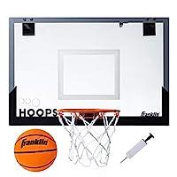 Franklin Sports 户外迷你篮球框 - 灌篮批准 - 防碎 - 含配件