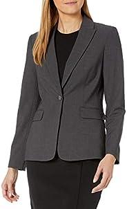 Calvin Klein 女士单扣奢华外套