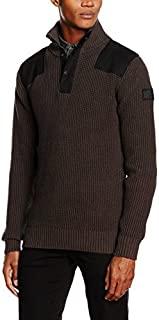 G-Star Raw 男式实用半拉链毛衣