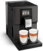 Krups 全自動咖啡機 EA872B 直觀的*,帶智能手機類似的 3.5 英寸彩色觸摸屏;直觀的彩色燈光指示;11 個個性化飲料