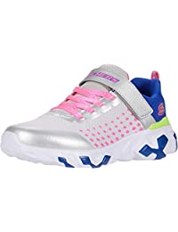 Skechers Techno Strides-Rhythm 儿童跑步运动鞋