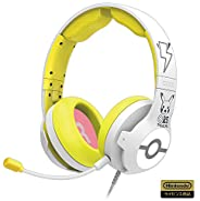 Hori 【任天堂授权产品】高级游戏耳机 适用于任天堂 Switch 皮卡丘 - POP 【适用于任天堂 Switch】