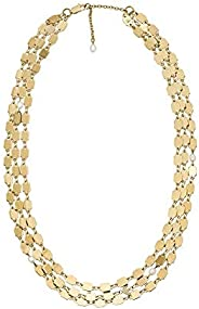 Emporio Armani 女士项链 不锈钢 / 珍珠 均码 金色 32012628
