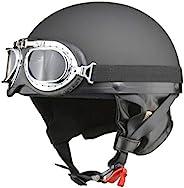 LEAD工业(LEAD) 摩托车头盔 半盔 CROSS 复古 LL尺寸(61~62厘米以内) CR-751 LL (頭囲 61cm~62cm未満) CR-751