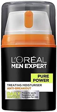 L'Oreal 歐萊雅 Men Expert Pure Power 男士抗斑保濕霜,50毫升 (新老包