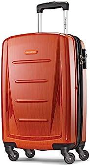 "Samsonite 新秀丽 Winfield 可扩展行李箱,24 \""(约0.61米),橙色,Carry-on"