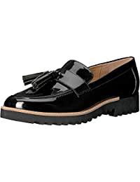 Franco Sarto Carolynn 女士乐福平底鞋 黑色 7.5 M US