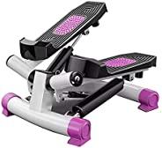 JINGOU 迷你樓梯步進器,帶阻力帶,旋轉步進器適用于鍛煉,帶 LED 顯示器,健身步進器鍛煉設備,適用于家庭鍛煉,高達 250 磅