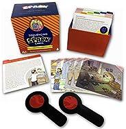 讲故事和图片诠释的排序卡 - 珠宝主题故事卡片语言*游戏,解决问题、特殊教育,包括雪博斯、光明节和纯净故事