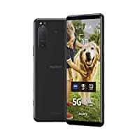 Sony 索尼 Xperia 5 II - 6.1 英寸 21:9 CinemaWide™ FHD+ HDR OLED 显示屏120Hz - 三重镜头相机 - 3.5 毫米音频插孔 - Android 10 - 无SIM卡 - 8 GB RAM - 128 GB 存储 - 双 SIM 混合 - 5G - 黑色