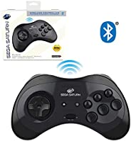 retro-bit SEGA Saturn® 8-Button Arcade Pad Bluetooth Black 复古头 SEGA Saturn® 8键 档垫 蓝牙控制器 黑色