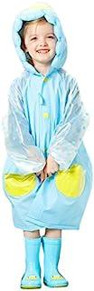 Fine Japan 儿童雨衣(带袋) 可爱 企鹅 蓝色/BL RS-8128