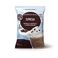 Big Train 混合冰咖啡, 意式咖啡,3.5磅(1589克),粉狀速溶咖啡飲料混合,熱冷均可,制作混合冰沙飲品
