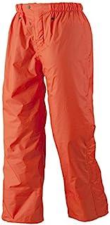 城市 辉 裤子 共5种颜色 共5种尺寸 雨裤 防水 双层 橙色 3L #8100