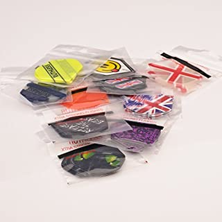 30 ASSORTED RUTHLESS EXTRA TOUGH DARTS FLIGHTS - 10 SETS MIXED STANDARD SHAPE by PerfectDarts