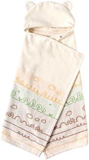 Hoppetta 棉制浴巾斗篷造型 バスポンチョ 7260
